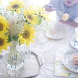 夏に飾りたいヒマワリ♪花もちはどれくらい??水の量は?長持ちポイント!