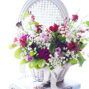 母の日のギフトに♪生花やプリザのフラワーアレンジ&ブーケをお届け♡