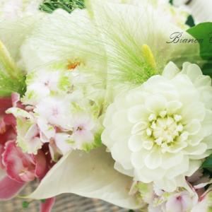 夏の花贈りのコツは花材選びにあり♪暑さに強い南国フラワー&プリザやドライフラワーのアレンジ