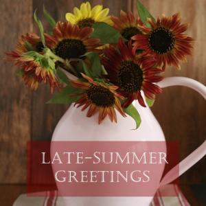 大人シックな秋色のヒマワリ♪チョコレート色の花を楽しむ!晩夏の花瓶選びのポイント