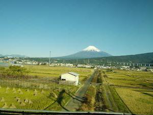今年さいごの新幹線。