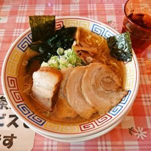 あっさりスープに2種のチャーシュー@ちくりん(滝沢市)