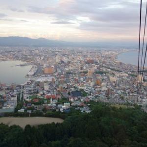 Go toを利用して函館へ(3)函館山の夜景とイカ刺し♪
