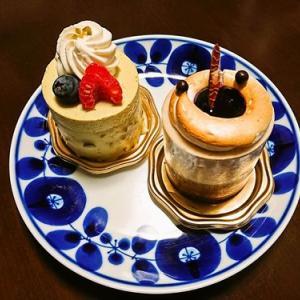 小さめサイズのおしゃれなケーキ@アトリエkuko(北上市)