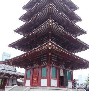★四天王寺の猫門に感動!