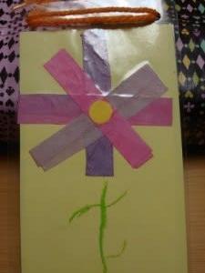 幼稚園から届いたゆめちゃんからの贈り物~♪  & 新鮮お造りとジューシーフランクフルト~♪