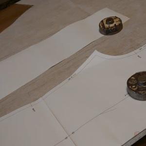 今日は型紙作り~♪  &  おでん~♪  &  白魚(霞ヶ浦の)~♪