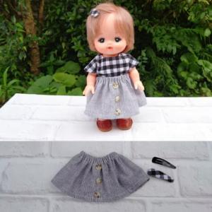 メルちゃんのギャザースカートとパッチンピン~♪ & 昨日の餐魚洞料理~♪