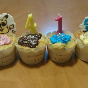 誕生日と誕生日とチョコプレート