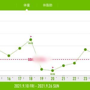 【ダイエット】体重と体脂肪率とエクササイズ
