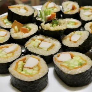 ケベック男の作った寿司と、日系ペルー女性の味噌汁