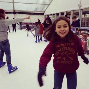 アイススケート♪ [動画]