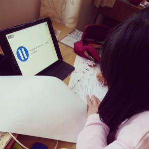 Home schooling , Day 21 その1