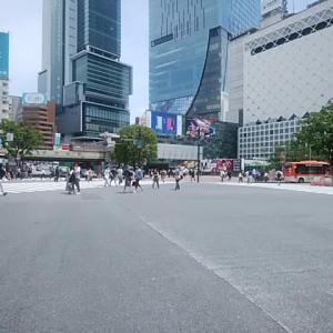 5・10日なのに、、、 5/25 12時 渋谷スクランブル交差点~代官山