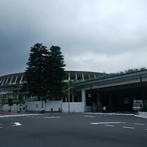 7/24  10:30   国立競技場界隈 幻の2020