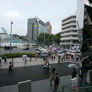 9/20   14時頃の「表参道・竹下通り」界隈 S Wと、Go To東京解除で、、、