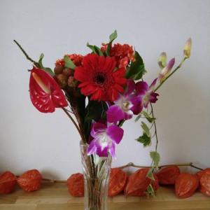 モニターさんの花、無事到着
