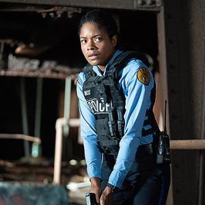 「ブラック アンド ブルー」警官の汚職を見てしまった新人警官は正義を貫くために逃げ続ける。