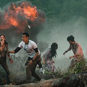 「ボルケーノ・パーク」一昔前に流行った火山噴火映画の焼き回しっぽい感じで、ちょっとダメでした。