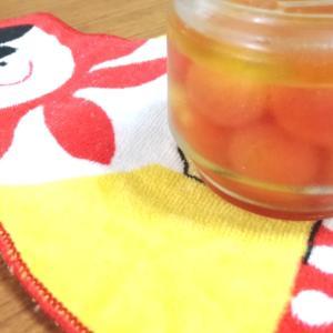 家庭菜園・ガーデニングで実ったミニトマトの「はちみつマリネ」作ってみた♪