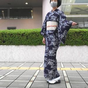 【着物コーディネート】今年50枚目の着物コーディネート写真♪