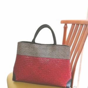 【和洋兼用バッグ】夏に愛用している赤いバッグは浴衣コーデのアクセントにも♪
