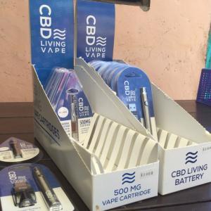 CBD Living Vape Cartridge & Battery+Charger kit