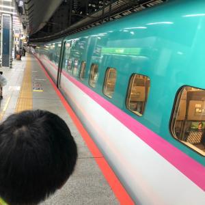 初新幹線で那須へ