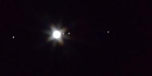 久しぶりのアップになりました 木星とガリレオ衛星です