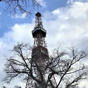 テレビ塔&♪冬物語♪
