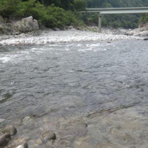 益田川釣行  20121/07/31