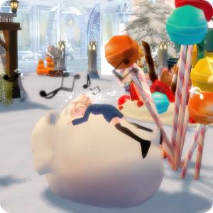 【マビ】夢を食べる食いしん坊ウサギ椅子。