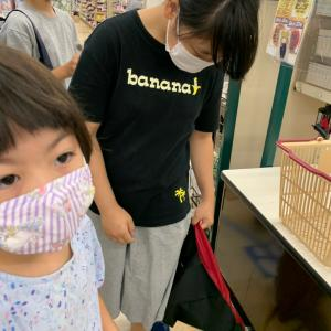 9/27昼の部のレッスン!スーパーでお買い物クッキング♪今日もモリモリメニューです☆