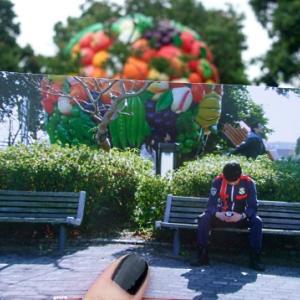 圭一郎のベンチ