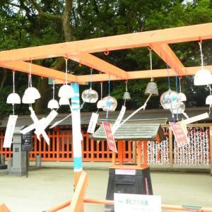 住吉神社の風鈴