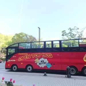 福岡市 西鉄 オープントップバス