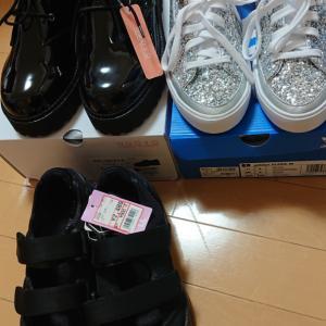 キラキラの靴