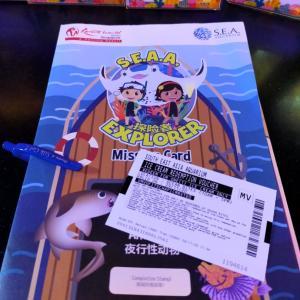 S.E.A Aquarium 年間パスポート、初Loyalty ギフト取得! しかし、、、