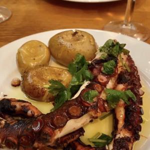 ポルトガルのタコ料理🐙