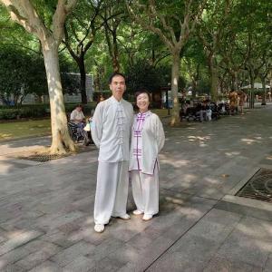 楊式太極拳わたしの尊敬する楊先生&淘宝で買った太極拳の服