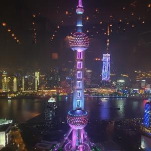 上海の夜景は世界一!結婚記念日30周年はリッツカールトン上海 イタリアン「シェーナ」