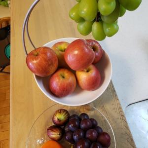 朝はお腹いっぱいフルーツ天国