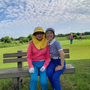 上海真夏のゴルフ、これもまた楽し!