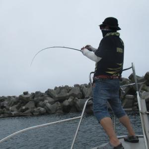 ボートロック&サバ釣り