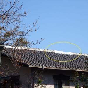 瓦屋根の台風被害