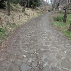 石張りの歩道