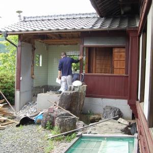 宇和町S城 古民家風中古住宅改修工事現場レポ0604