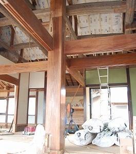 宇和町S城 古民家風中古住宅 改修工事現場レポ 0723