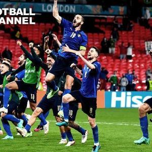サッカーイタリア代表スペイン撃破~決勝進出~最高嬉しいな・・