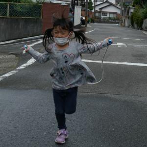 雨のお散歩ニ連発